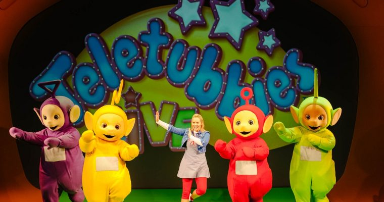 Win a Family Ticket to Teletubbies Live at Aylesbury Waterside Theatre