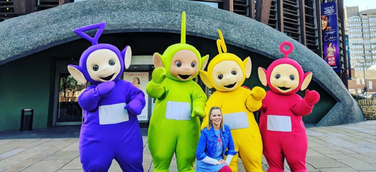 The day we met the Teletubbies