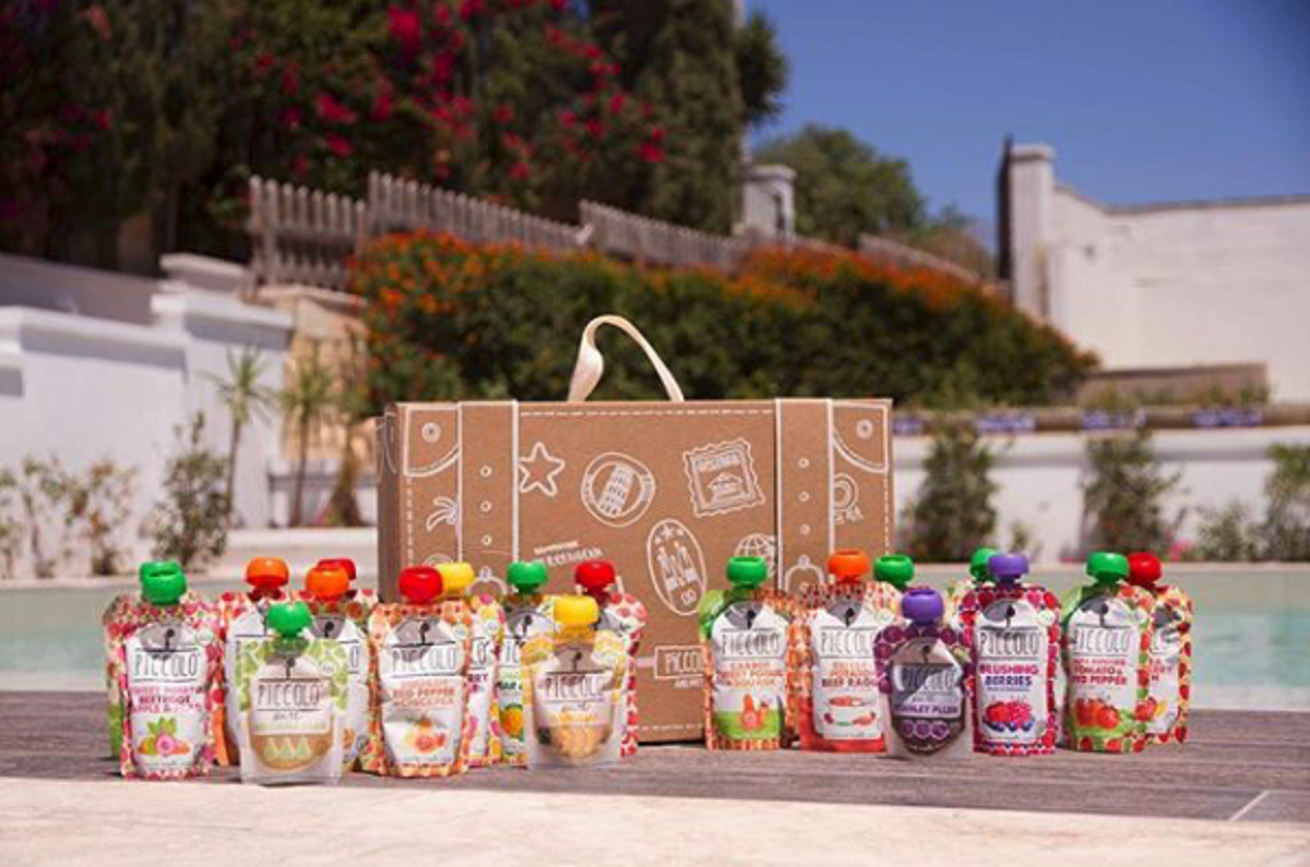 WIN A MONTH'S WORTH OF PICCOLO ORGANIC BABY FOOD