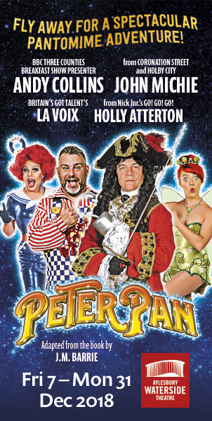 Peter Pan at Aylesbury Waterside Theatre