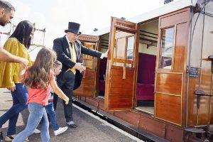 Day out with thomas buckinghamshire railway centre 2018