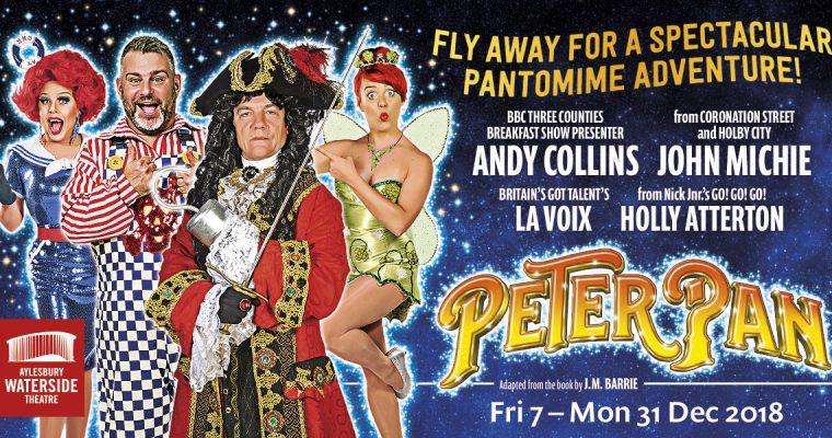Peter Pan Pantomime – Aylesbury Waterside Theatre