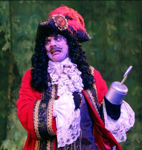 John Michie as Captain Hook