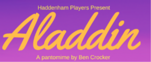 Aladdin panto Haddenham