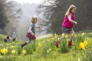 Easter egg hunt waddesdon manor april 2019