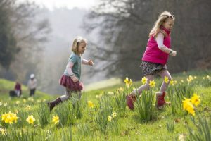 Easter egg hunt waddesdon manor april 2019